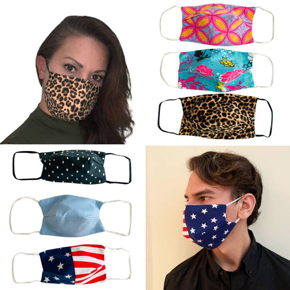 Adult Cotton Face Masks