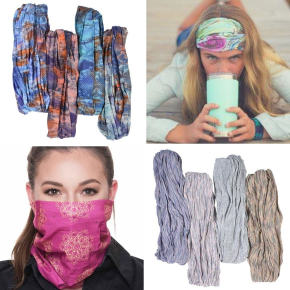 Bella Collection Head Wraps & Face Covers
