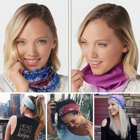 Headbands of Hope - Recycled Tube Turbans