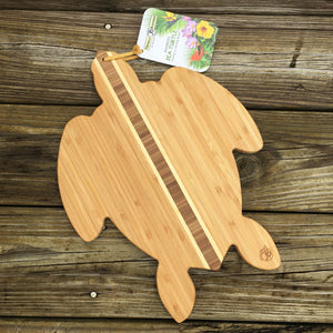 Bamboo Turtle Serving Board