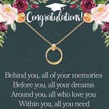 Dear Ava Congratulations Graduation Necklace