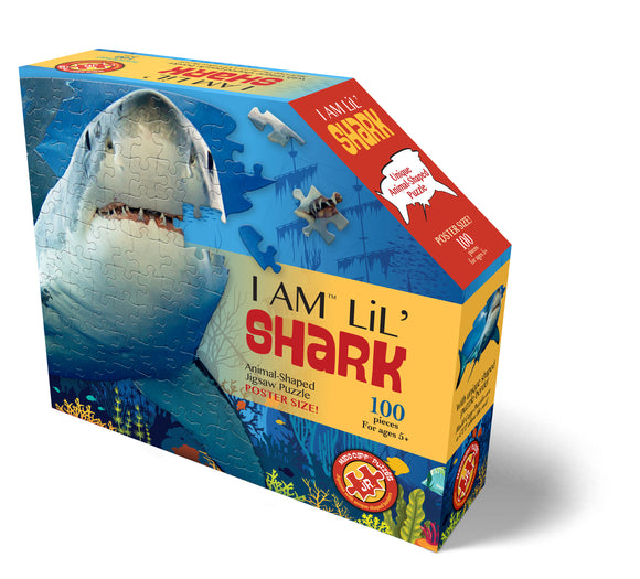 Mad Capp I am a Lil' Shark Puzzle for Kids