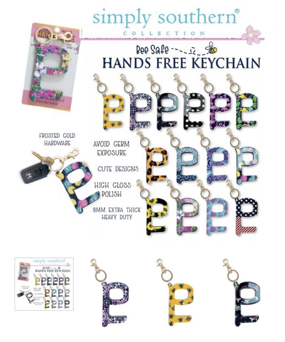 Simply Southern Hands Free Keychains