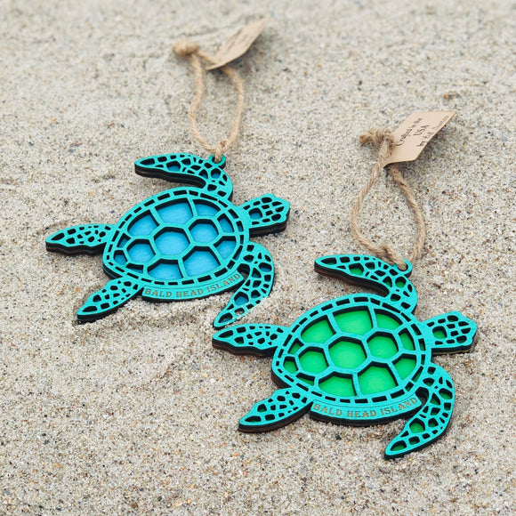 BHI Sea Turtle Bicast Ornament