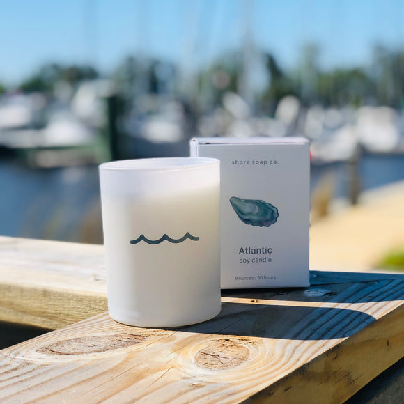 Shore Soap Co. Atlantic Candle