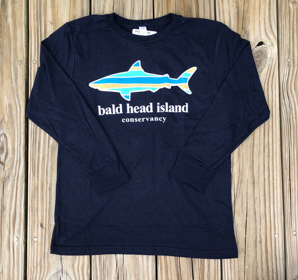 Ridgeline Shark Youth LS Tee