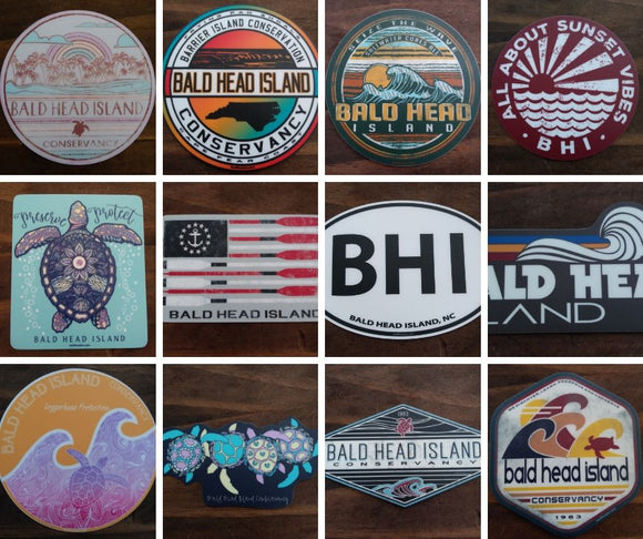 BHI Vinyl Stickers - Large
