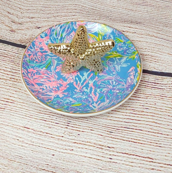 Lilly Pulitzer Starfish Ring Holder