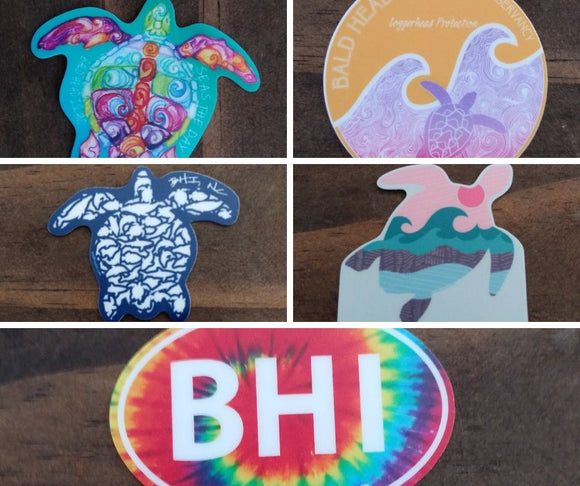 BHI Vinyl Stickers - Mini