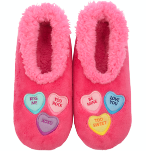 Candy Hearts Snoozies® Slippers for Women