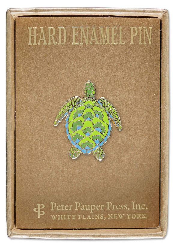 Enamel Sea Turtle Pin