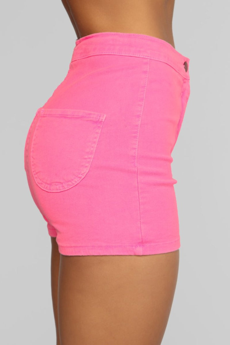 Can't Miss Me Neon Shorts