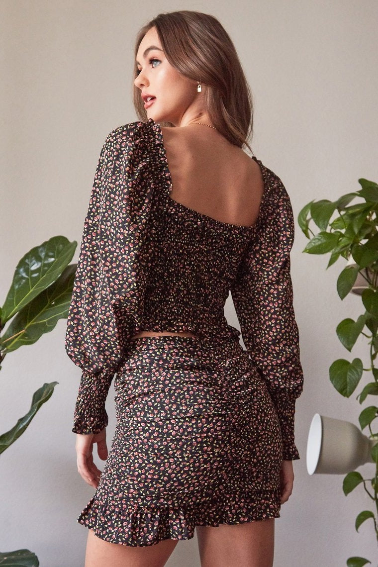 Botanical Skirt Set
