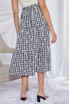 Daisy Gingham Skirt - Bump Friendly