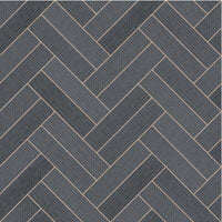 Megatex Charcoal Chevron - Direct Flooring & Beds