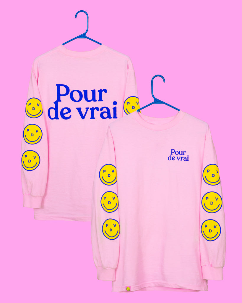 Duo long sleeves Pour de vrai