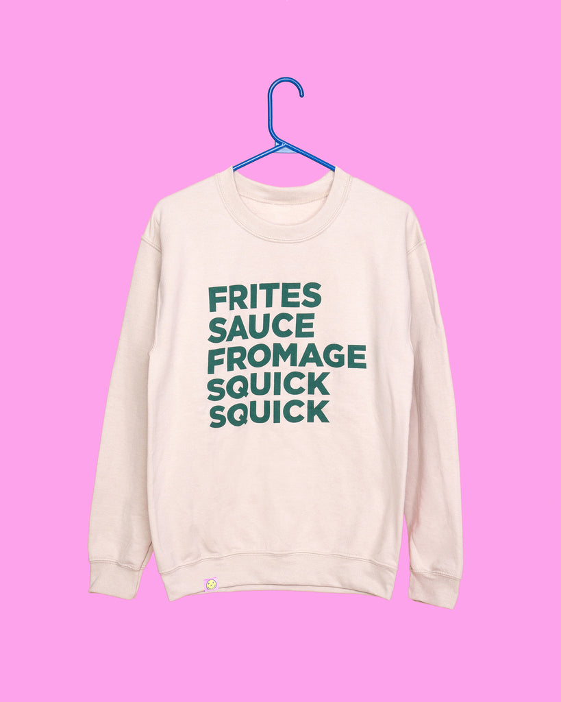 Frites, sauce & fromage squick squick