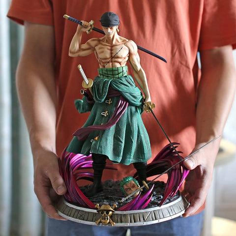 one-piece-roronoa-zoro-with-2-heads-action figure-statue-37cm