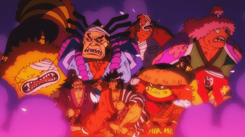 one piece - oden crew-boiled