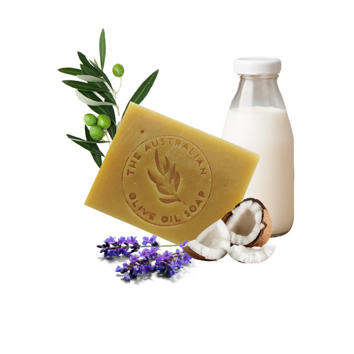 Lavender Goat Milk - The Australian Olive Oil Soap