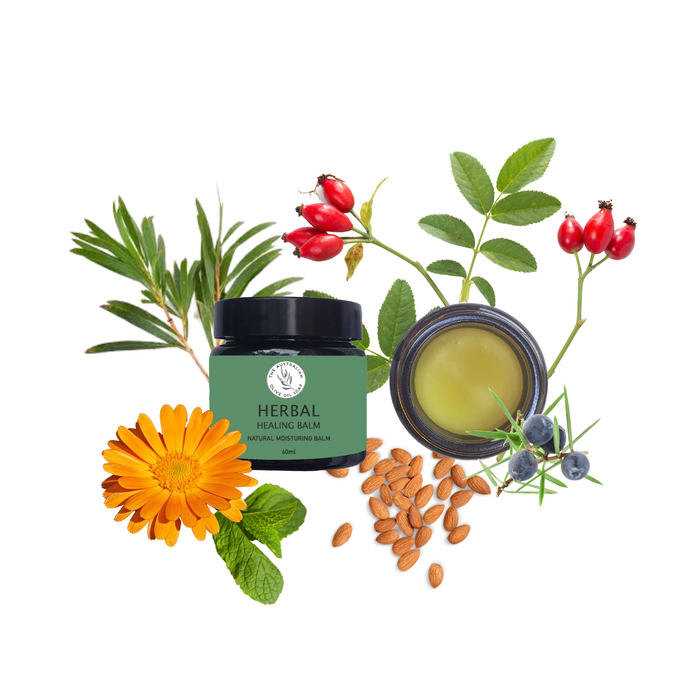 HERBAL Revital Hand Balm - The Australian Olive Oil Soap