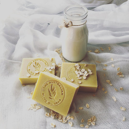 Australian Oatmeal Butter Goat milk soap