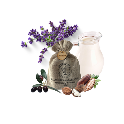 Gift bag Australian Lavender Butter Goat milk - The Australian Olive Oil Soap