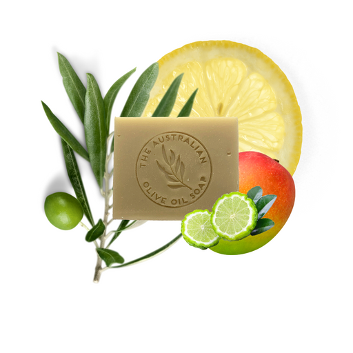 Kaffir Mango Butter Goatsmilk Soap - The Australian Olive Oil Soap