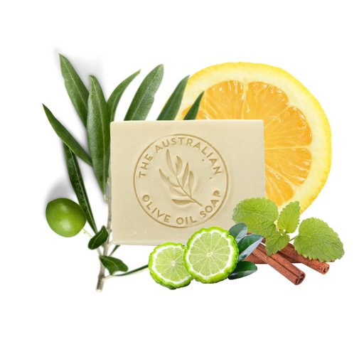 Bergamot soap - The Australian Olive Oil Soap