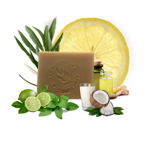 ARGAN Coconut Milk Shampoo NEW & IMPROVED! - The Australian Olive Oil Soap