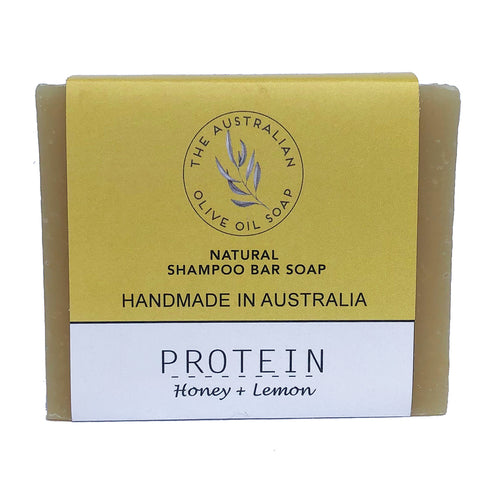 Shampoo: EGG Honey + Lemon - The Australian Olive Oil Soap