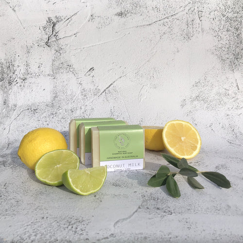 COCONUT MILK  Lemon + Lime - The Australian Olive Oil Soap