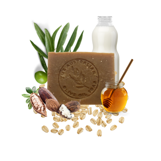 Oat & Manuka Honey Butter Goat milk - The Australian Olive Oil Soap
