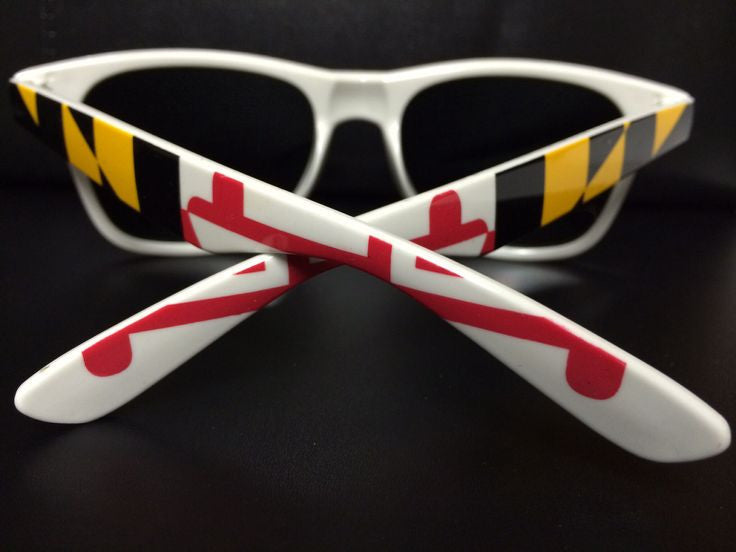 Maryland Flag Whites