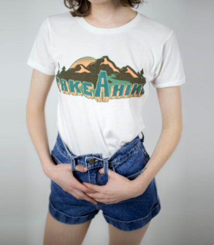 Take a Hike 70s Retro Tee