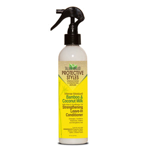 Taliah Waajid Bamboo, Biotin & Basil Leave In Conditioner 8 oz
