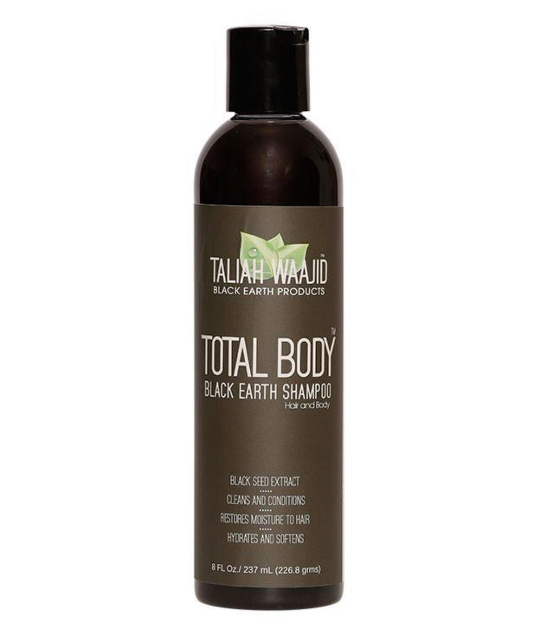 Taliah Waajid Total Body Black Earth Shampoo 8 oz