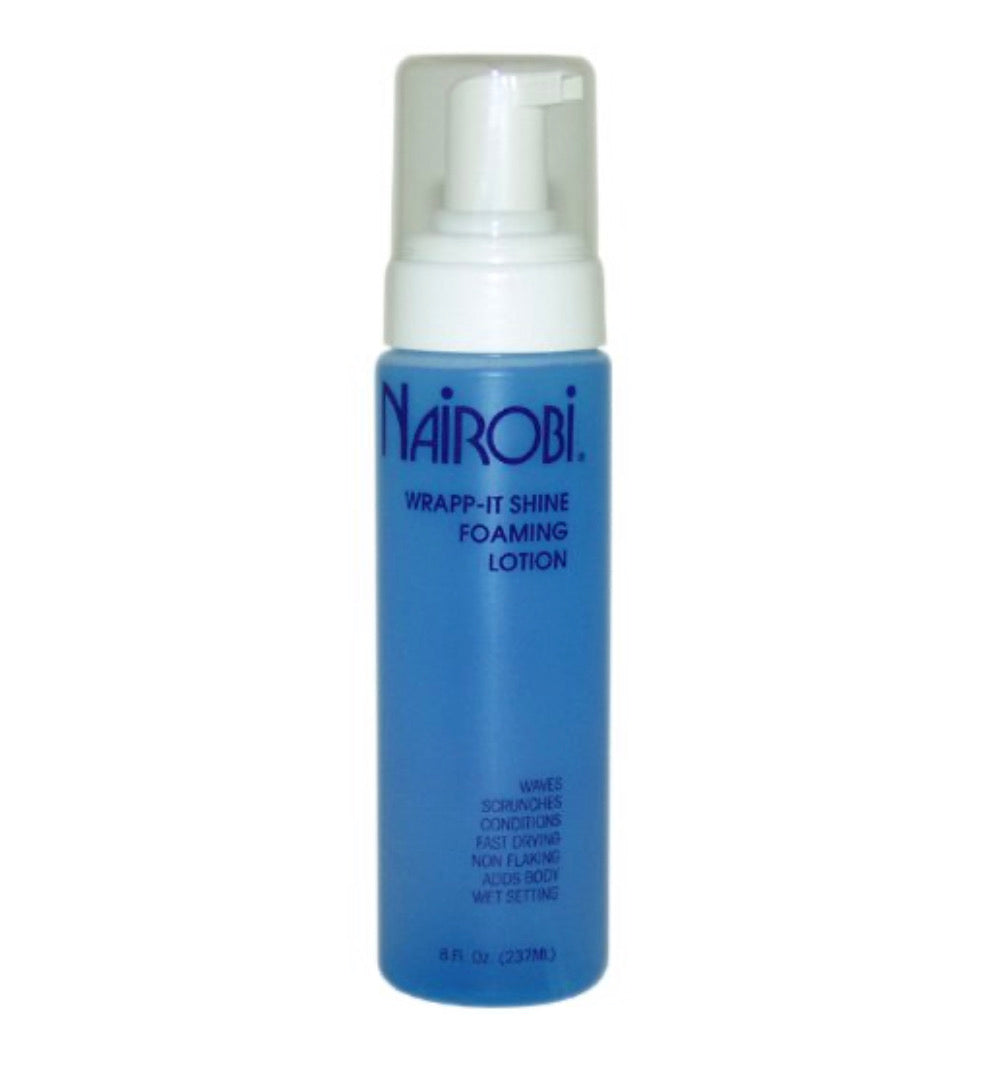 Nairobi Wrap It Shine Foaming Lotion 8 oz