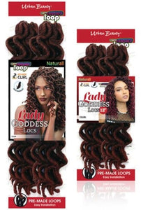 Urban Beauty Lady Goddess Locs 18""