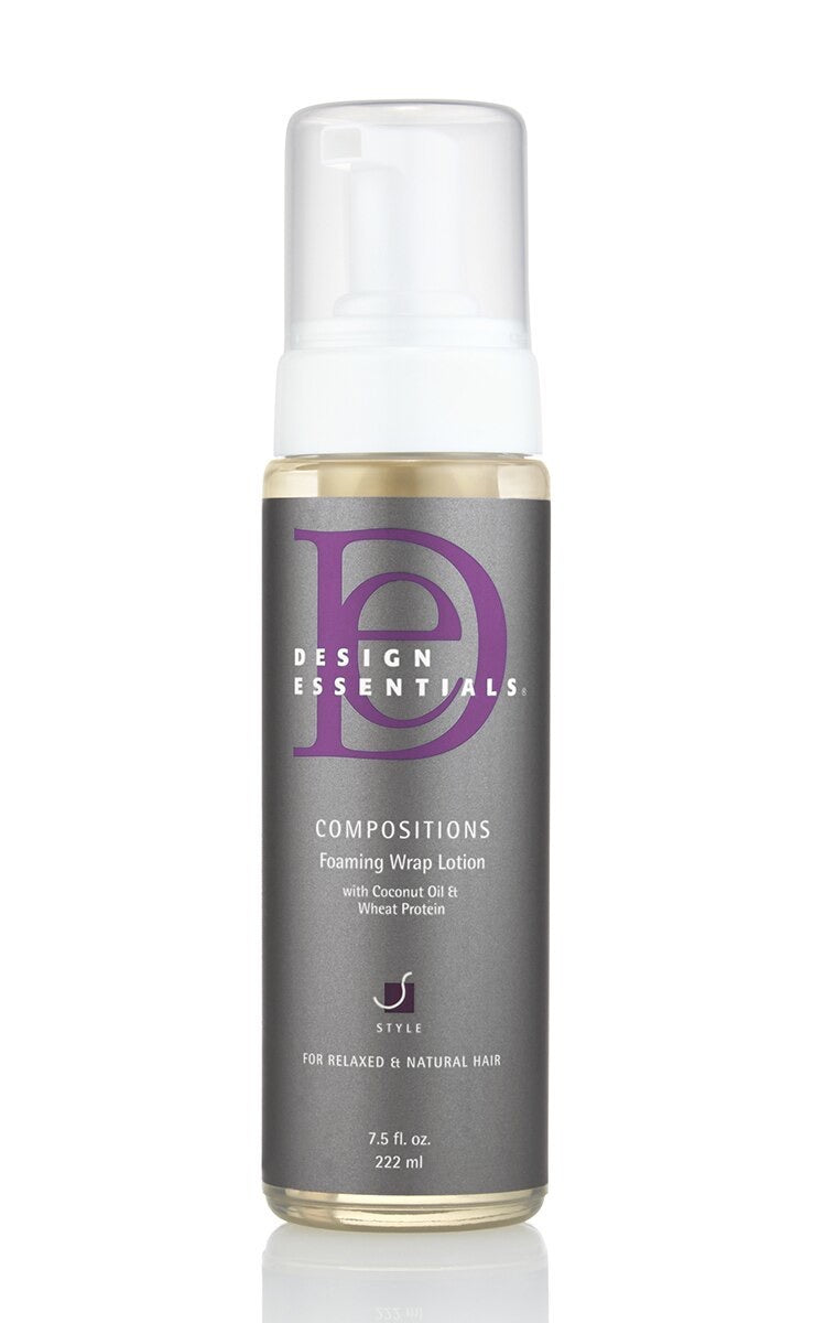 Design Essentials Composition Foaming Wrap Lotion 7.5 oz