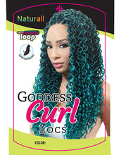 Load image into Gallery viewer, Urban Beauty Naturall Goddess Curl Locs 14""