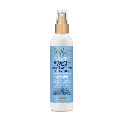 SheaMoisture Manuka Honey & Yogurt Hydrate + Repair Multi Action Leave In Conditioner 8 fl oz