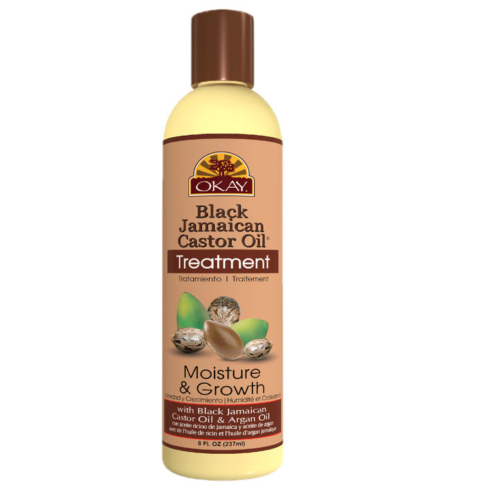 OKAY Black Jamaican Castor Oil Treatment 8 fl oz