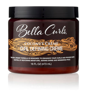 Bella Curls Coconut Creme Curl Defining Creme 16 oz