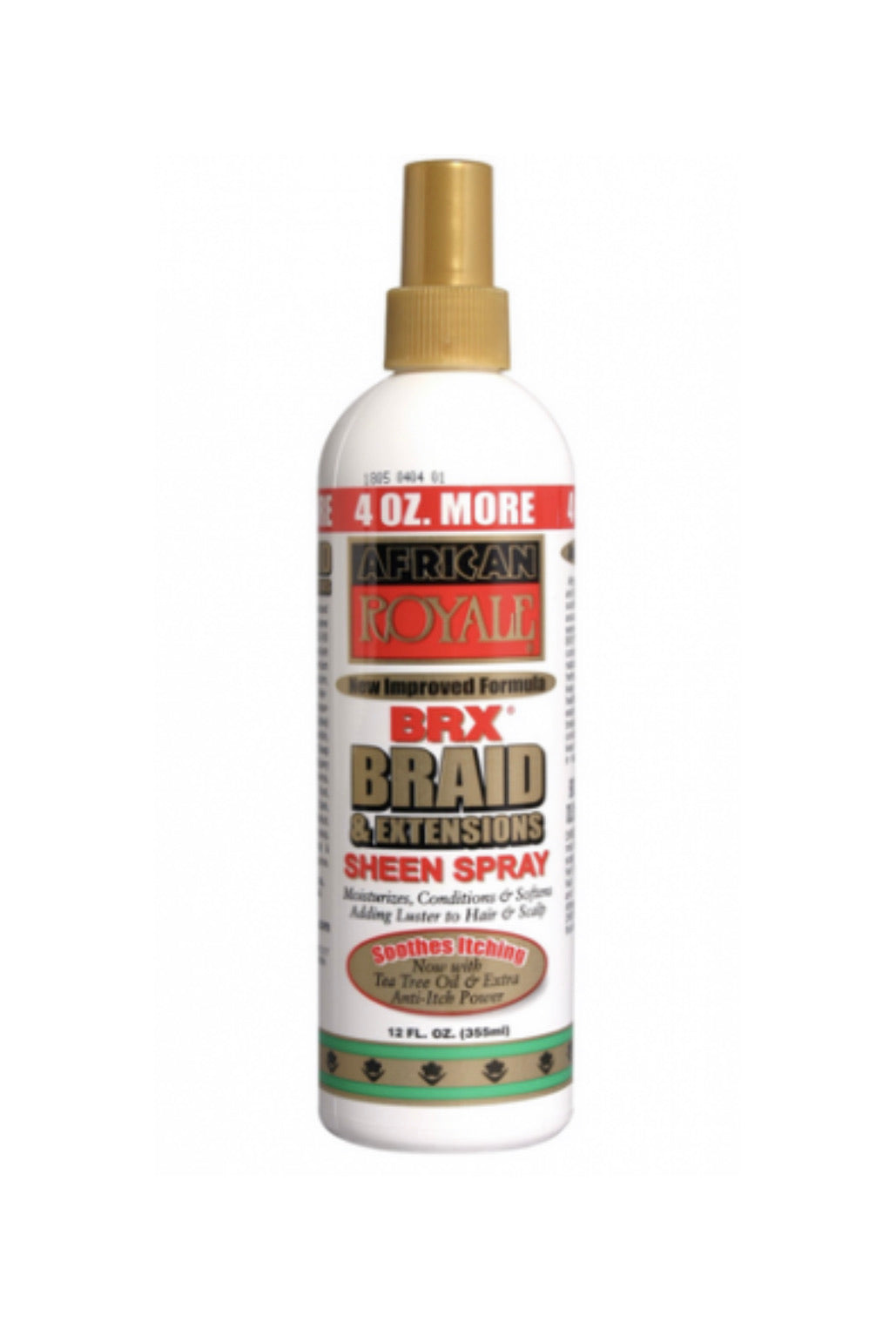 African Royale BRX Braid & Extentions Sheen Spray 12 FL oz