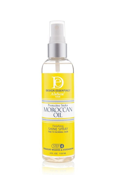 Design Essentials Moroccan Oil Finishing Shine Spray 4 oz