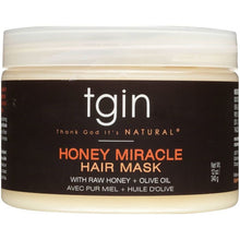 Load image into Gallery viewer, TGIN Honey Miracle Hair Mask 12 oz