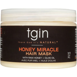 TGIN Honey Miracle Hair Mask 12 oz