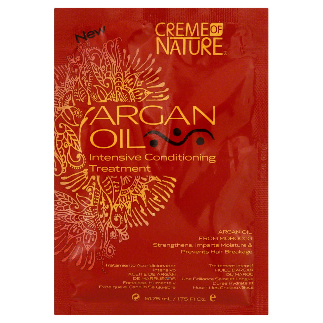 Creme of Nature Argan Oil Intensive Conditioning Treatment Pack 1.75 oz