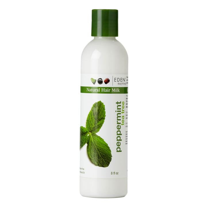 Eden BodyWorks Peppermint Tea Tree Natural Hair Milk 8 fl oz
